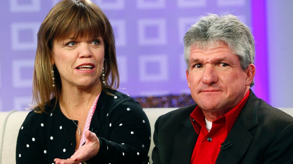 "PHOTO: Amy Roloff and Matt Roloff appear on ""Today"" show."