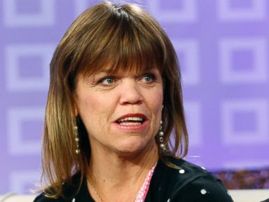 PHOTO: Amy Roloff and Matt Roloff appear on Today show.