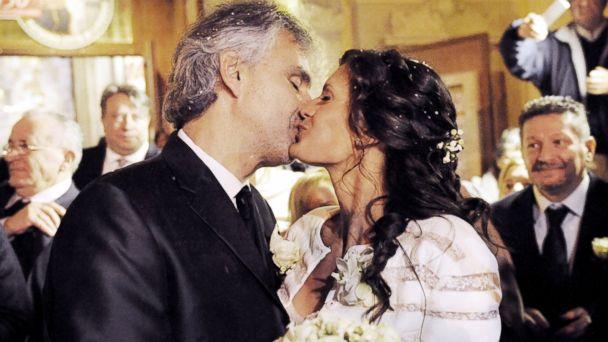 GTY andrea bocelli veronica berti wedding sk 140324 16x9 608 Andrea Bocelli Marries Longtime Girlfriend