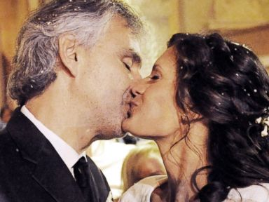 Andrea Bocelli Marries Longtime Girlfriend