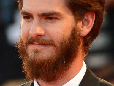 Photos: Andrew Garfield Arrives in Venice with a Huge Beard