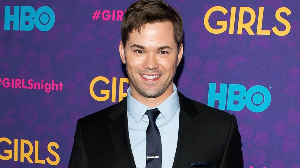 "PHOTO: Andrew Rannells attends the ""Girls"" season three premiere at Jazz at Lincoln Center on Jan. 6, 2014 in New York City."