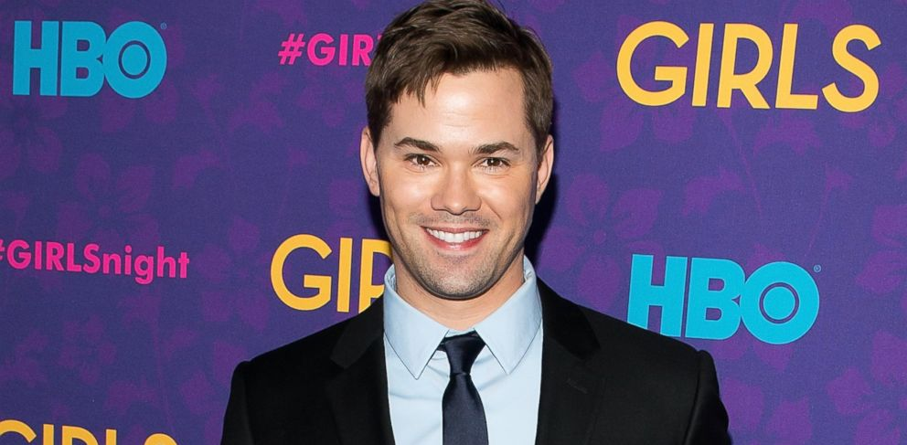 """PHOTO: Andrew Rannells attends the """"Girls"""" season three premiere at Jazz at Lincoln Center on Jan. 6, 2014 in New York City."""