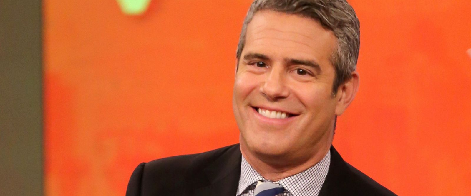 PHOTO: Andy Cohen is a guest co-host on The View, Dec. 1, 2014.