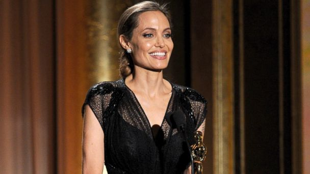 GTY angelina jolie jef 131118 16x9 608 Angelina Jolie Honors Late Mother in Governors Award Speech