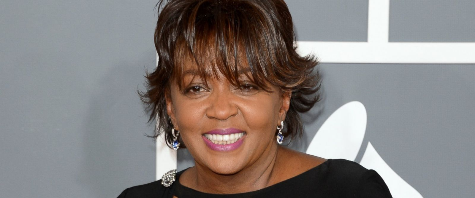 PHOTO: Singer Anita Baker arrives at the 55th Annual Grammy Awards at Staples Center in this Feb. 10, 2013, file photo.