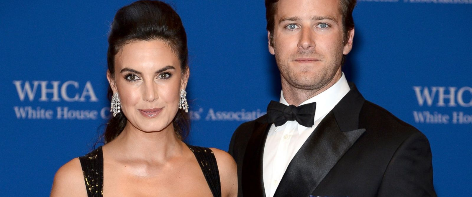 PHOTO: Elizabeth Chambers and Armie Hammer attend the 100th Annual White House Correspondents Association Dinner at the Washington Hilton, May 3, 2014 in Washington.