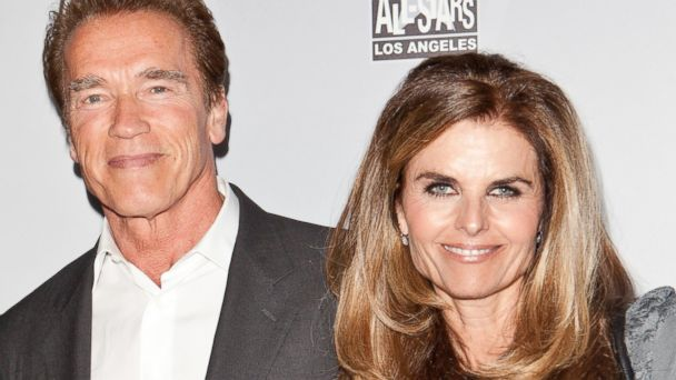 PHOTO: Arnold Schwarzenegger and Maria Shriver arrive at After-School All-Stars Hoop Heroes Salute launch party at Katsuya, Feb. 18, 2011, in Los Angeles.