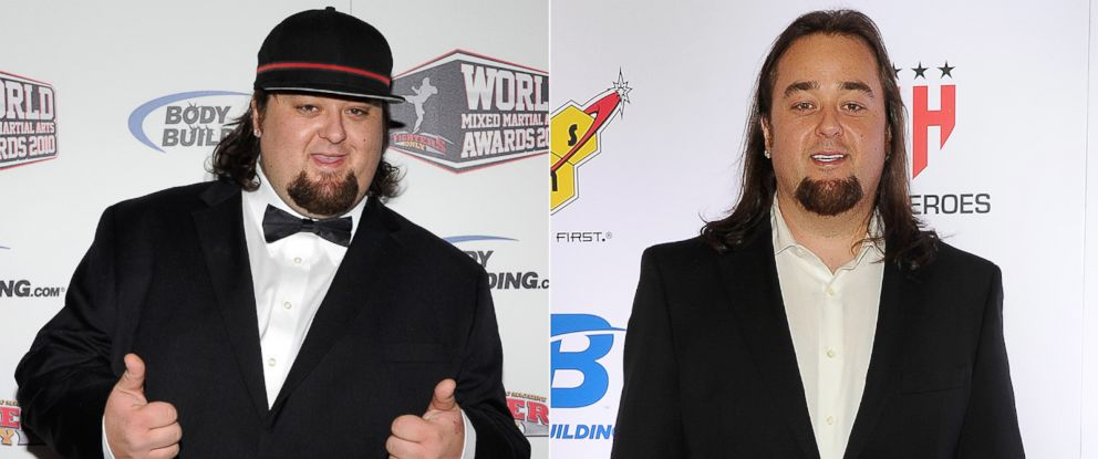 PHOTO: Austin Chumlee Russell in Las Vegas on Dec. 1, 2010. | Austin Chumlee Russell in Las Vegas on Feb. 7, 2014.