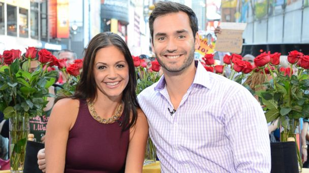 PHOTO: Bachelorette Desiree Hartsock and baseball player turned mortgage broker Chris Siegfried appeared on