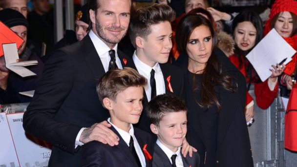 GTY beckham sons jtm 131211 16x9 608 David Beckham Shares Sweet Stories About His Kids
