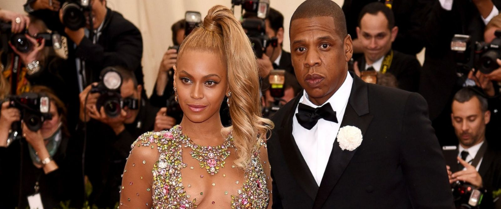 PHOTO: Beyonce, left, and Jay Z, right, are pictured on May 4, 2015 in New York City.