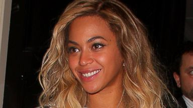 Beyonce Steps Out in London