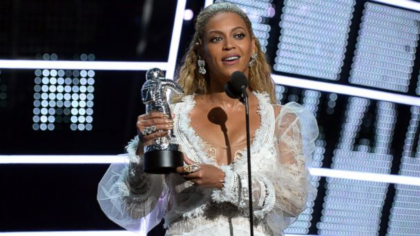 PHOTO: Recording artist Beyonce accepts the award for Video of the Year onstage during the 2016 MTV Video Music Awards at Madison Square Garden, Aug. 28, 2016, in New York.