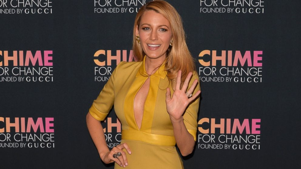 PHOTO: Blake Lively attends the CHIME FOR CHANGE One-Year Anniversary Event at Gucci Fifth Avenue in New York, June 3, 2014.