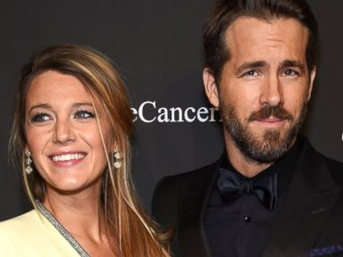 Blake Lively Shows Off Her Bump -- and Husband, Ryan Reynolds