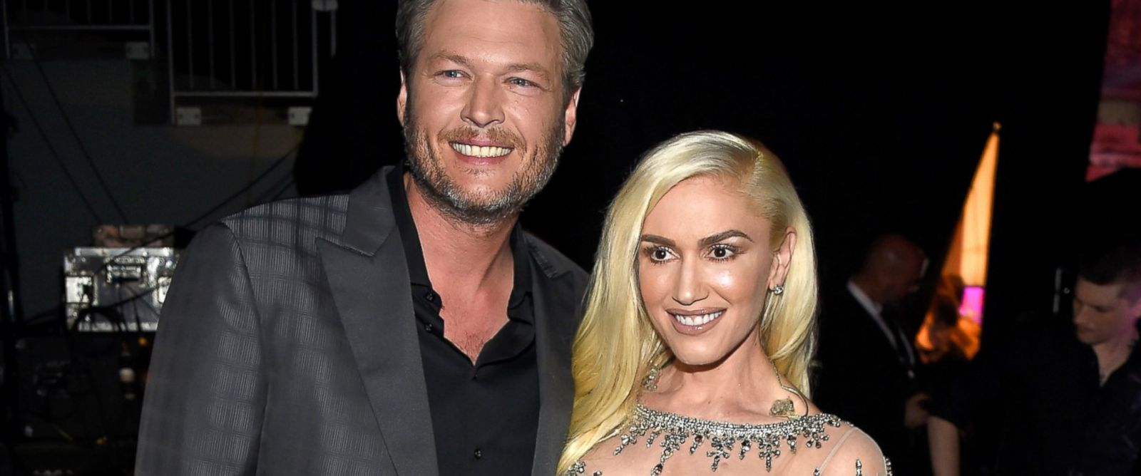 Gwen Stefani Celebrate... Gwen Stefani And Blake Shelton