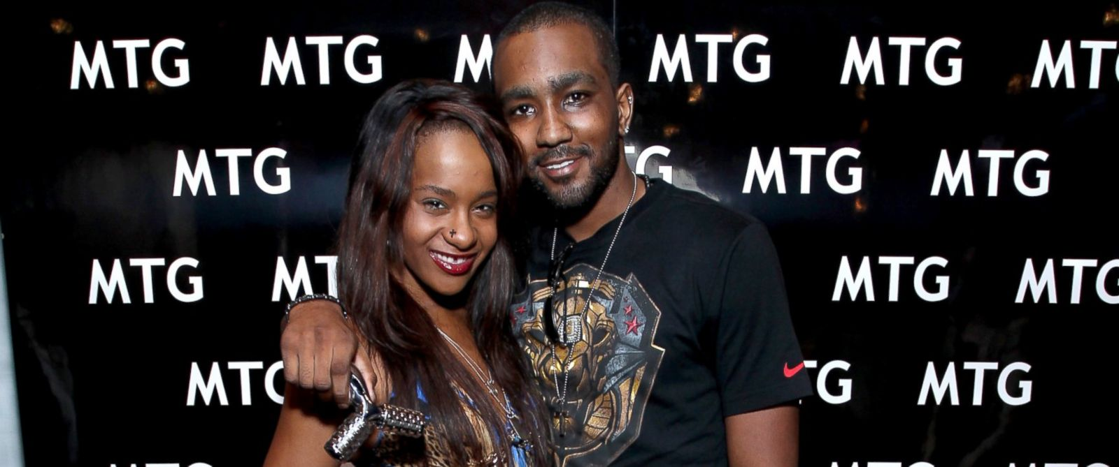 PHOTO: Bobbi Kristina Brown and Nick Gordon attend the GRAMMY Gift Lounge