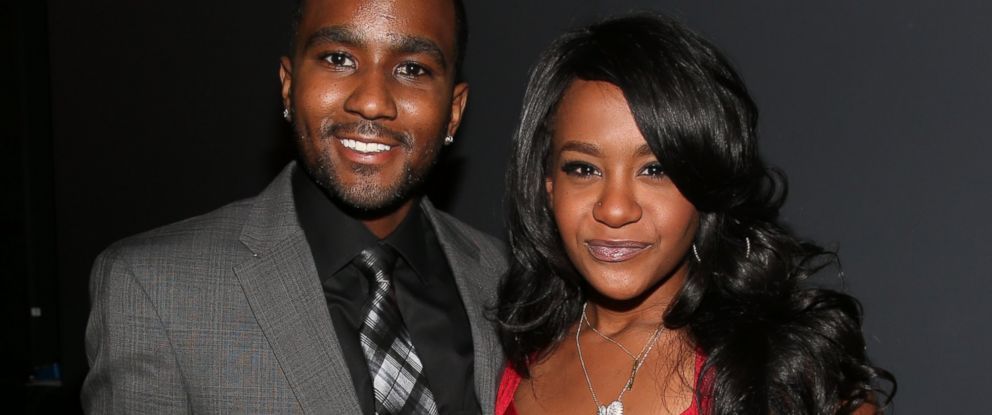 PHOTO: Nick Gordon, left, and Bobbi Kristina Brown, right, are pictured on Oct. 11, 2012 in Los Angeles.