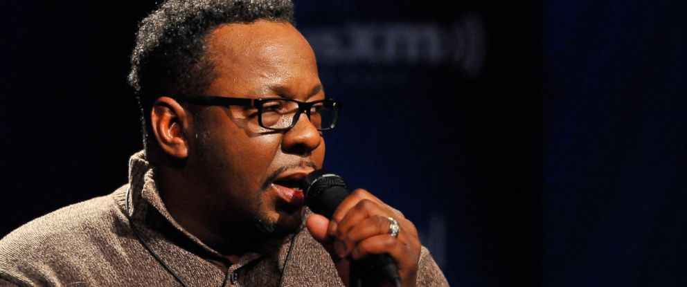 "PHOTO: Bobby Brown performs on SiriusXMs ""Up Close & Personal"" hosted by Cayman Kelly at SiriusXM Studio, Dec. 18, 2015 in Washington."