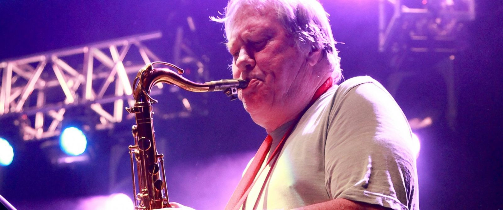 PHOTO: Saxophonist Bobby Keys of The Rolling Stones performs at The Capitol Theatre, Sept. 7, 2012, in Pt Chester, New York.