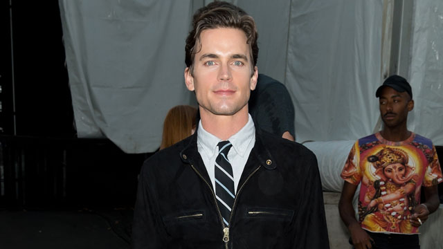 PHOTO: Matt Bomer attends Mercedes-Benz Fashion Week in New York, Sept. 6, 2013.