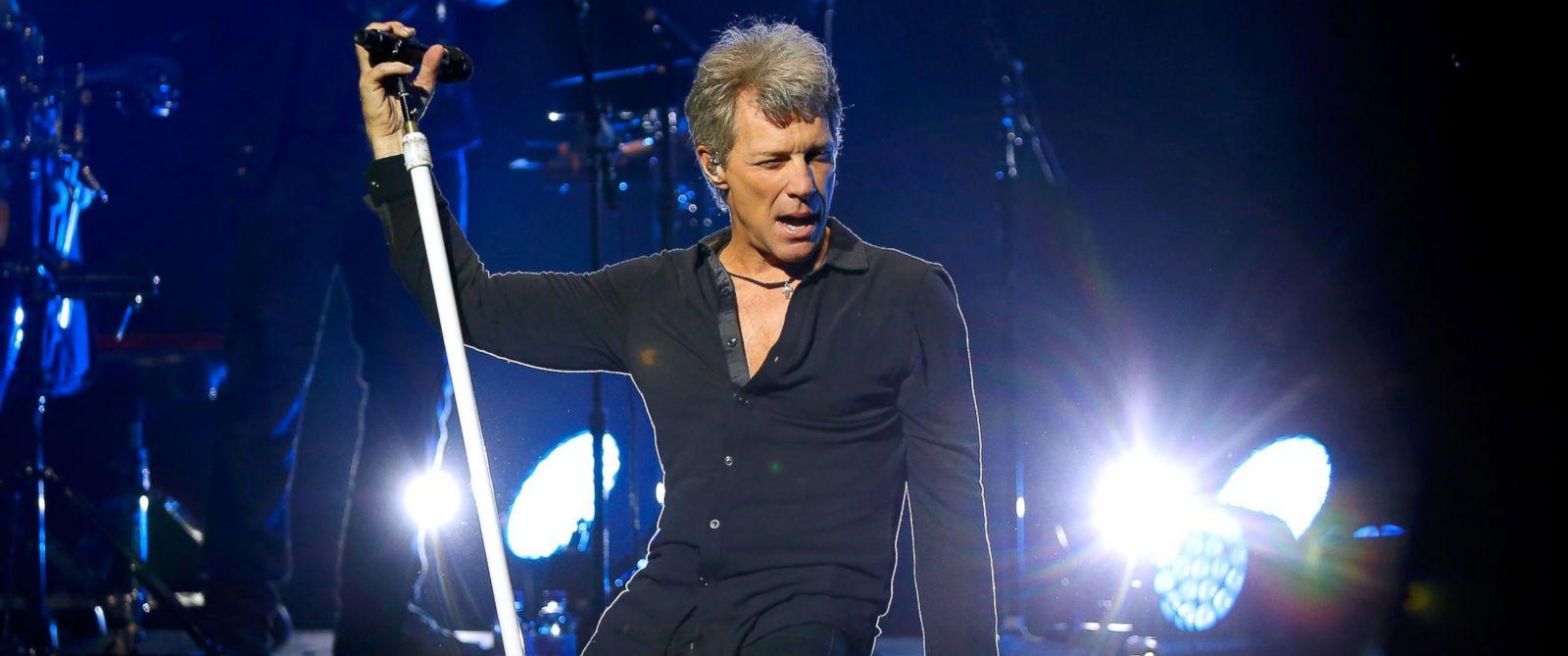 PHOTO: Jon Bon Jovi of Bon Jovi performs songs from their new album ...