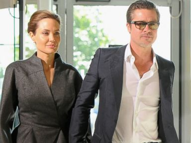Brad Pitt and Angelina Jolie Get Married in France