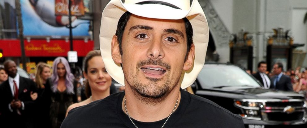 "PHOTO: Brad Paisley attends the premiere of Disneys ""Planes: Fire & Rescue"" at the El Capitan Theatre, July 15, 2014, in Hollywood, Calif."