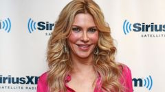 PHOTO: Brandi Glanville visits SiriusXM Studios in New York, Nov. 11, 2013.