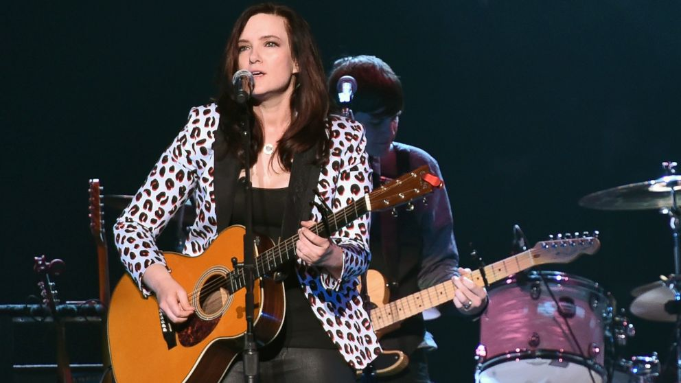 PHOTO: Brandy Clark performs during the Outsiders World Tour at Madison Square Garden, Oct. 17, 2014 in New York.