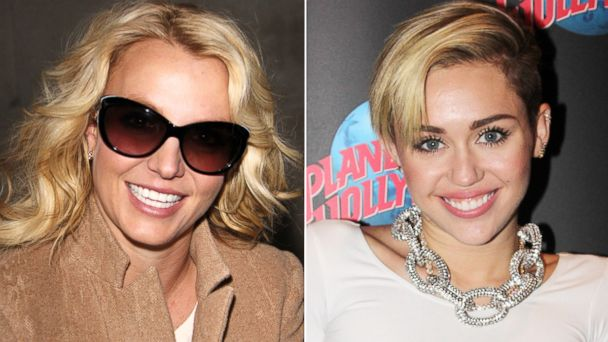 GTY britney miley tk 131016 16x9 608 Britney Spears on Miley Cyrus: I Think Shes Brilliant