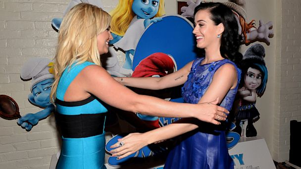 GTY britney spears katy perry jef 130729 16x9 608 Katy Perry Cried Meeting Britney Spears