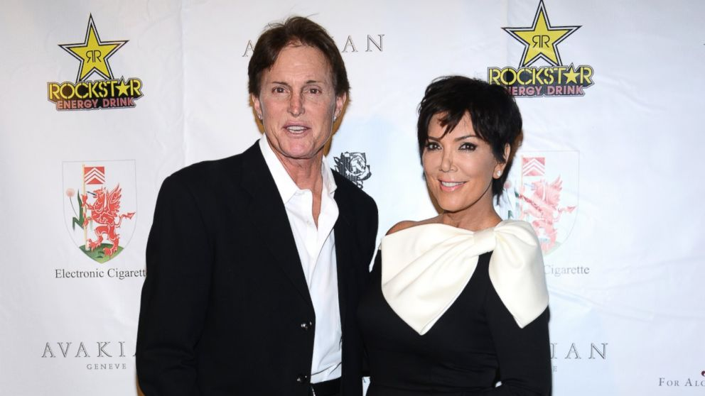 PHOTO: In this file photo, Bruce Jenner, left, and Kris Jenner, right, are pictured on Sept. 15, 2012 in Beverly Hills, Calif.