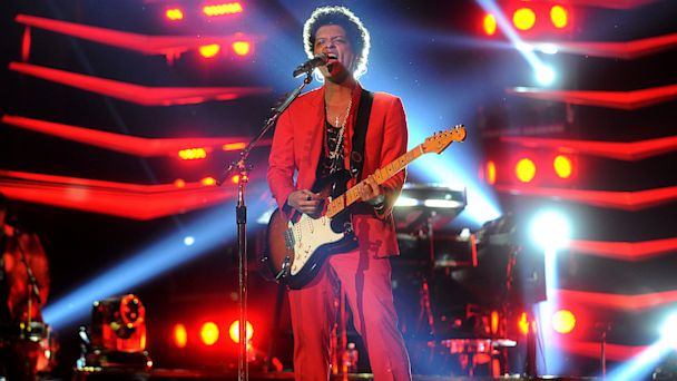 Bruno Mars performs at Prudential Center, July 1, 2013, in Newark, New Jersey.