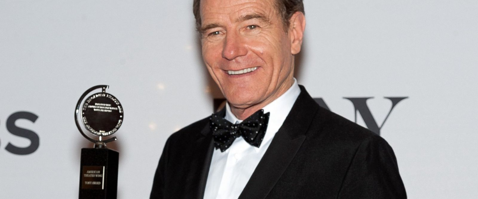 PHOTO: Bryan Cranston poses in the press room during the American Theatre Wings 68th Annual Tony Awards at Radio City Music Hall, June 8, 2014, in New York. D Dipasupil/Getty Images