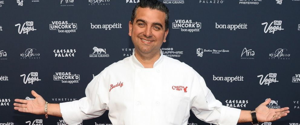 PHOTO: Chef Buddy Valastro attends Vegas Uncorkd by Bon Appetits Grand Tasting event at Caesars Palace, May 9, 2014, in Las Vegas.