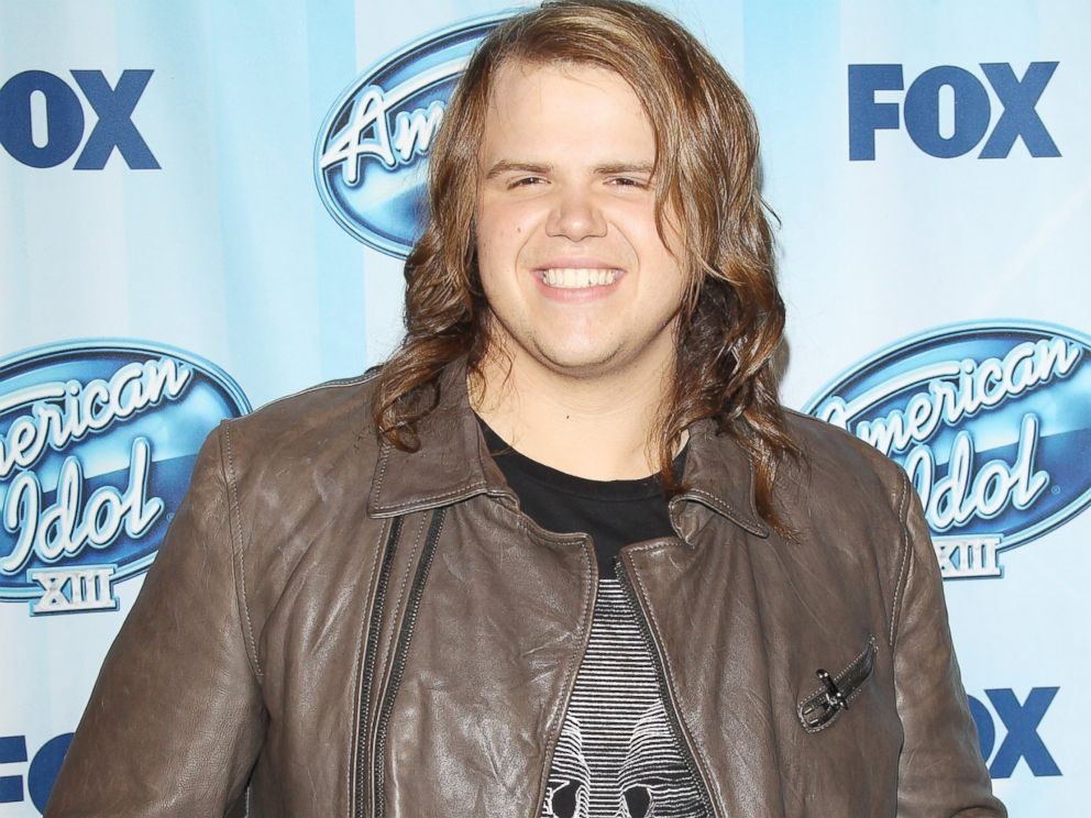 PHOTO: American Idol winner Caleb Johnson arrives at Foxs American Idol XIII Finale held at Nokia Theatre L.A. Live in Los Angeles, Calif., May 21, 2014.