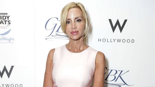 GTY camille grammar nt 131030 16x9 608 Camille Grammer Granted Restraining Order Against Boyfriend After Alleged Abuse
