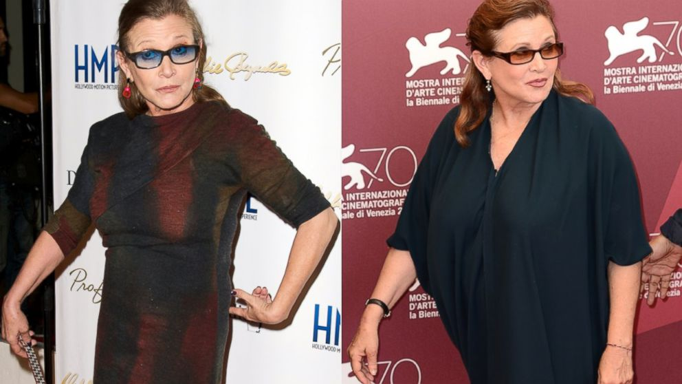 'Star Wars' Star Carrie Fisher Shows Off 35-Pound Weight ...