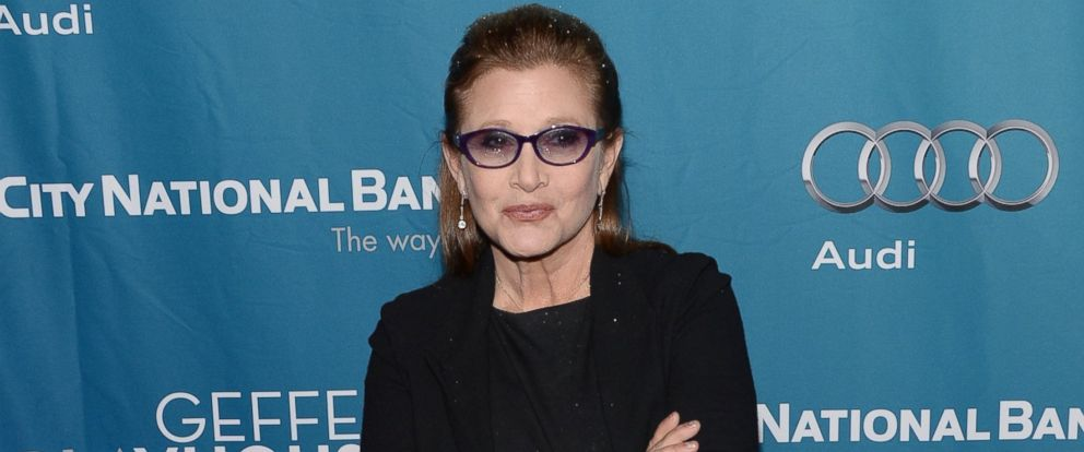 PHOTO: Carrie Fisher is pictured on March 22, 2014 in Los Angeles.