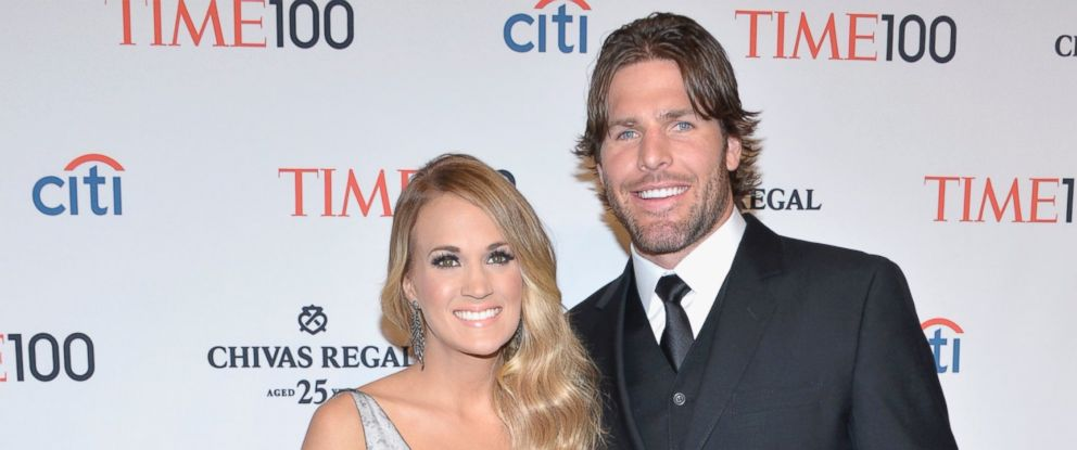 PHOTO: Honoree Carrie Underwood, left, and husband Mike Fisher attend the TIME 100 Gala, TIMEs 100 most influential people in the world, at Jazz at Lincoln Center on April 29, 2014, in New York City.