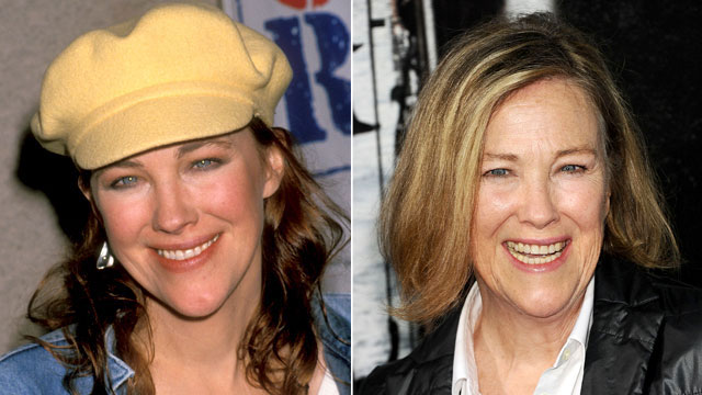 PHOTO: Catherine O'Hara then and now.