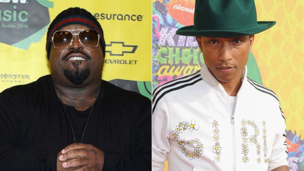 GTY ceelo pharrell2 kab 140331 16x9 608 Pharrell Williams Replacing Cee Lo Green on The Voice