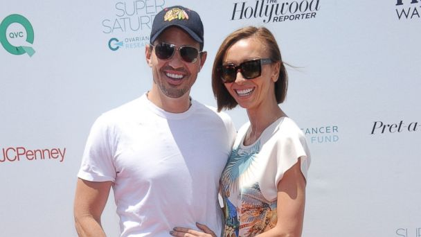 PHOTO: Giuliana Rancic, right, and Bill Rancic, left, are pictured in Santa Monica, Calif. on May 17, 2014.