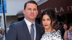 Channing Tatum and Jenna Dewan-Tatum Promote Magic Mike XXL
