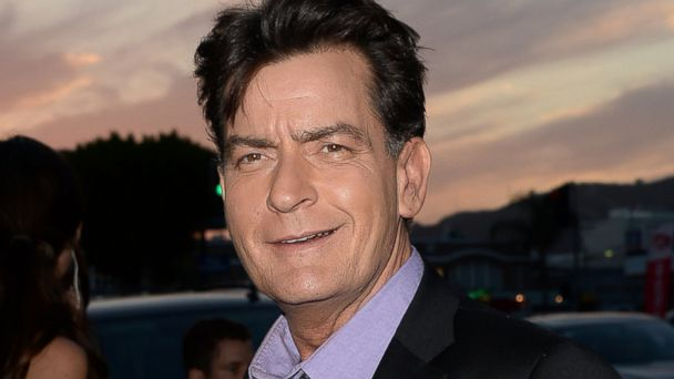 PHOTO: Actor Charlie Sheen arrives at the Dimension Films Scary Movie 5 premiere at the ArcLight Cinemas Cinerama Dome, April 11, 2013 in Hollywood, Calif.