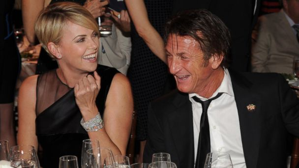 GTY charlize theron sean penn jef 140113 16x9 608 Love Lives of Sean Penn, Robin Wright and Their Kids