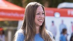 New Mom Chelsea Clinton Goes Casual in Cowboy Boots