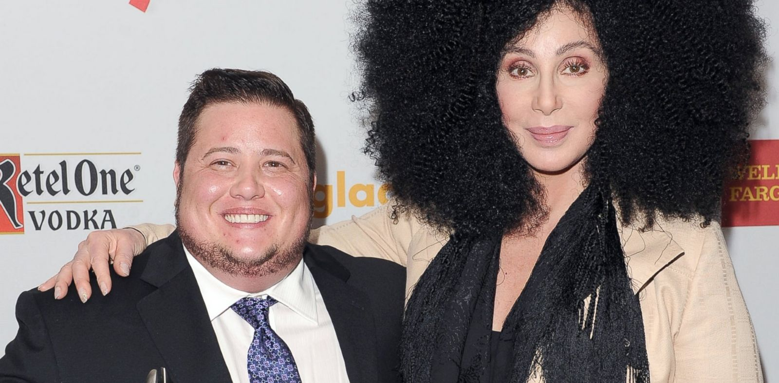 PHOTO: Chaz Bono and Cher at the GLAAD Media Awards in Los Angeles, Calif., April 21, 2012.